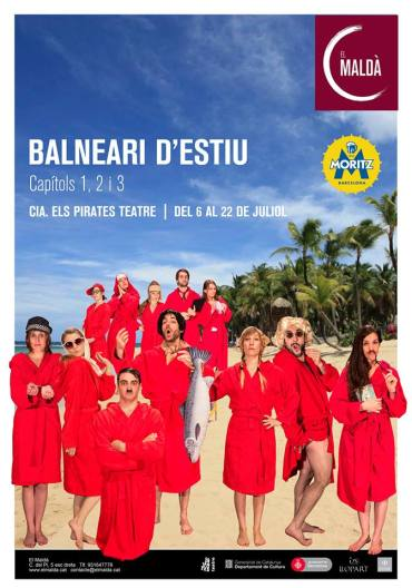 Balneari Maldà: l'Educació, Teatre Maldà